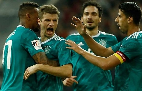 germany draw 1 1 with spain as costa makes comeback