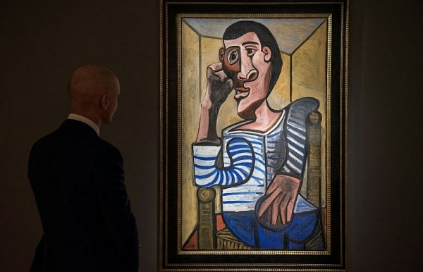 rare picasso self portrait expected to fetch 70 million