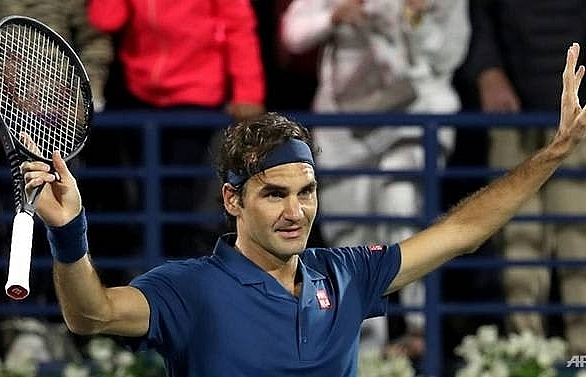 federer demolishes coric to move one win from 100th career title