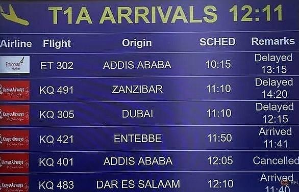 ethiopian airlines flight to nairobi crashes killing 157