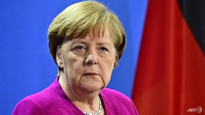 merkel distances herself from macrons europe vision
