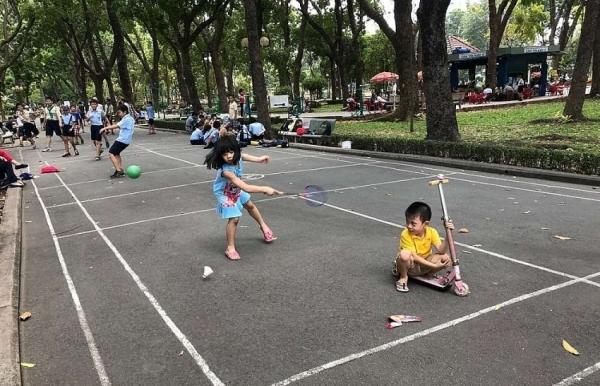 hcm city touts exercise for a healthier population