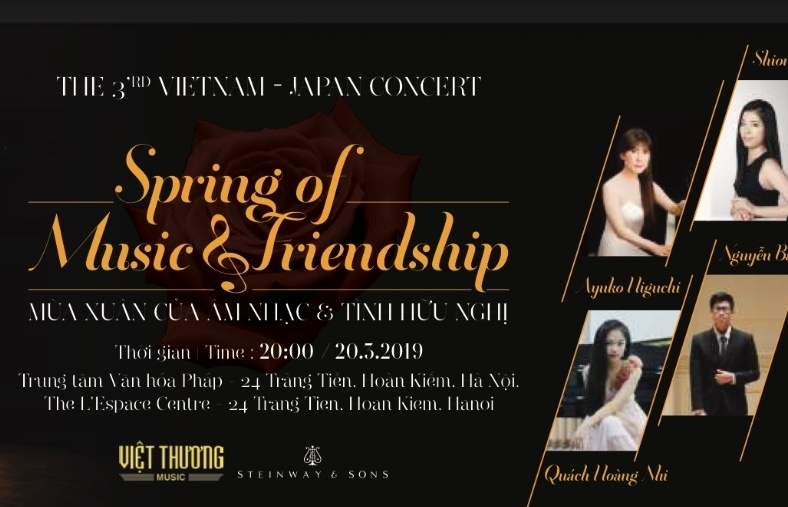 vietnam japan friendship concert to take place in hanoi
