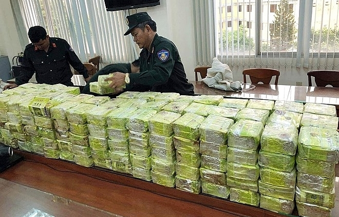 major drug trafficking ring busted 300kg of drugs seized