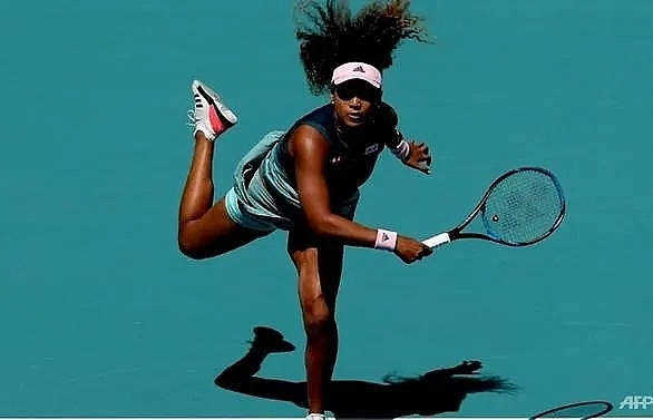osaka toppled by hsieh in miami open third round