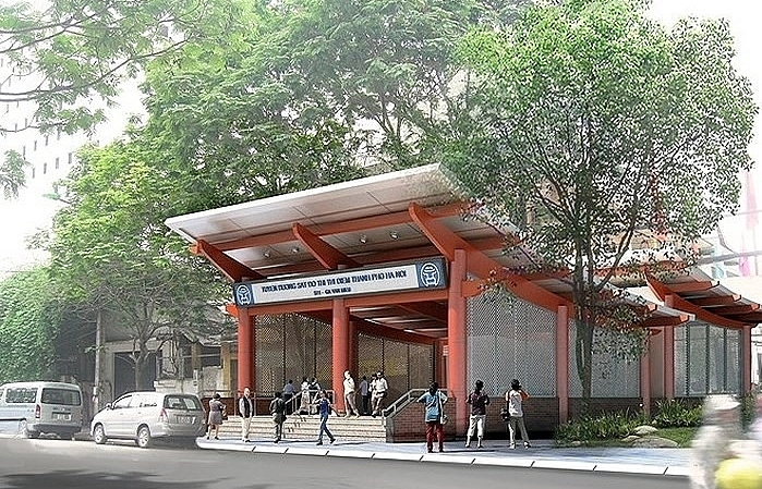 hanois tran hung dao street to be narrowed for urban railway station