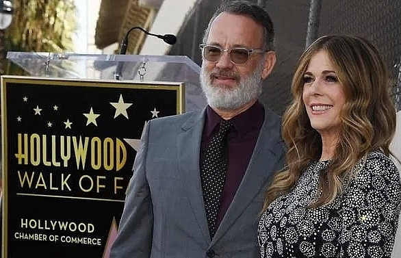 tom hanks and wife rita wilson hospitalised in australia with covid 19