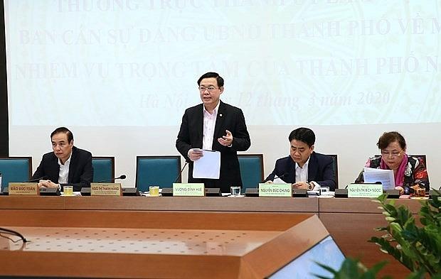 hanoi seeks to promote economic growth despite covid 19 outbreak