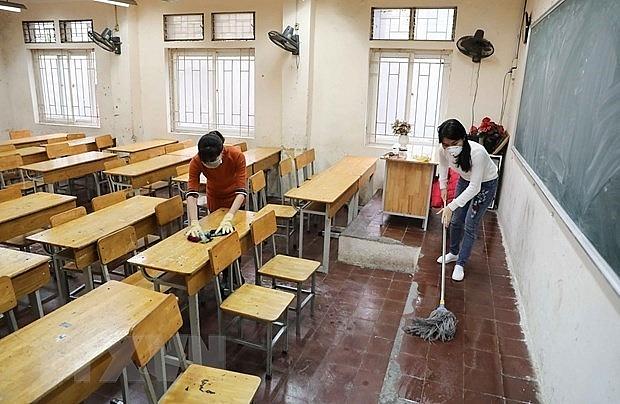 hanoi schools remain closed until april 5