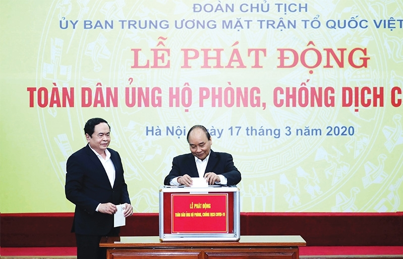 vietnam steps up in fight against global pandemic