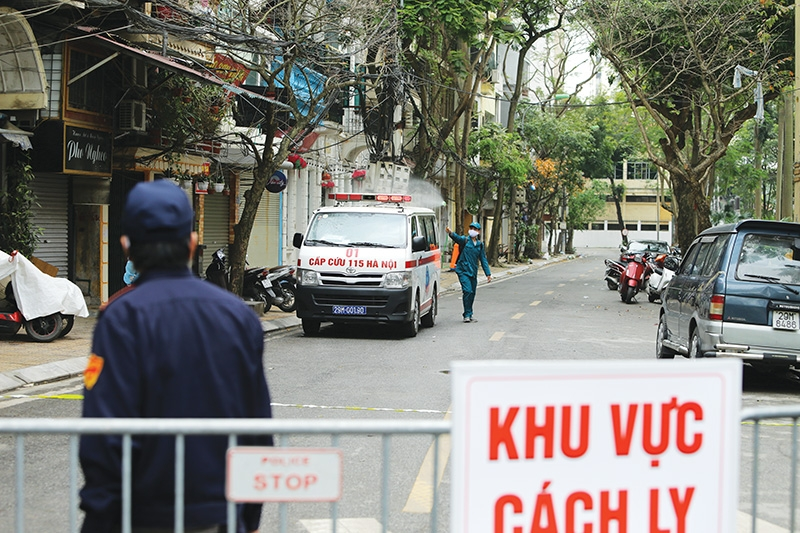 resiliency illustrated as vietnam cares for others