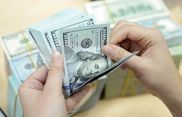 reference exchange rate up 1 vnd on march 24