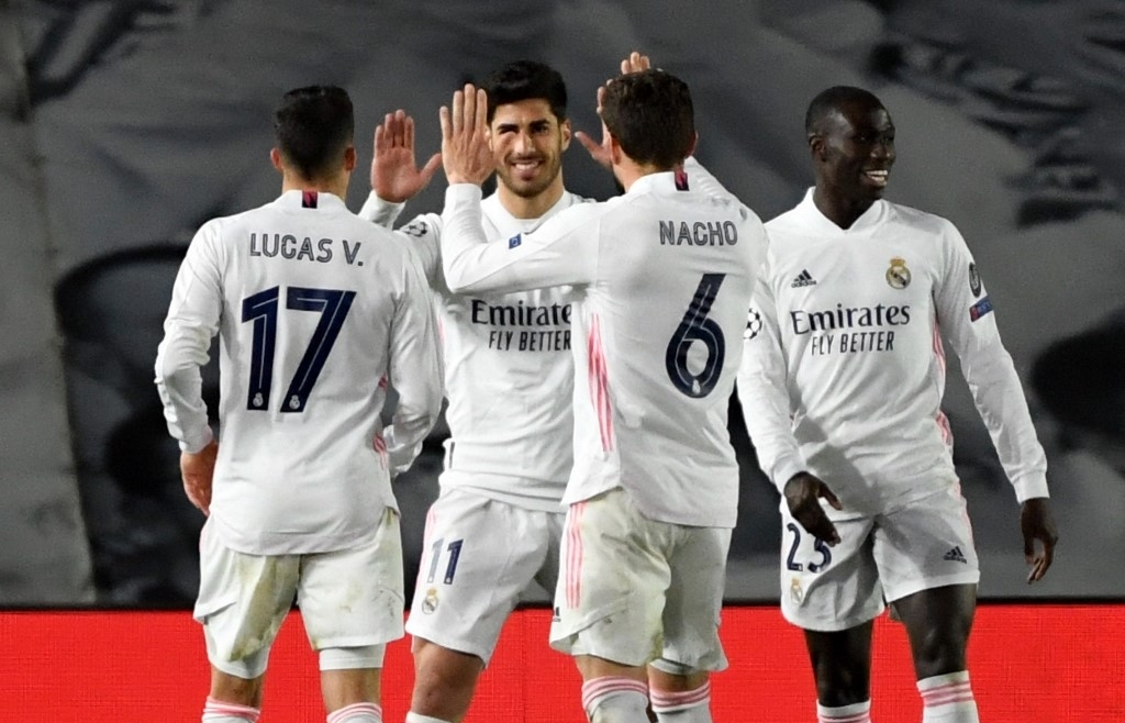 real madrids old guard see off atalanta to reach champions league last eight
