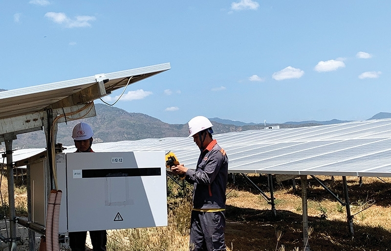 adjusting to new energy methods in ninh thuan