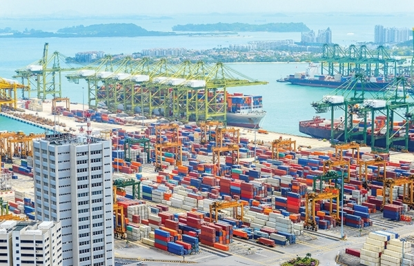 sanctions and squabbles shift global trade balance