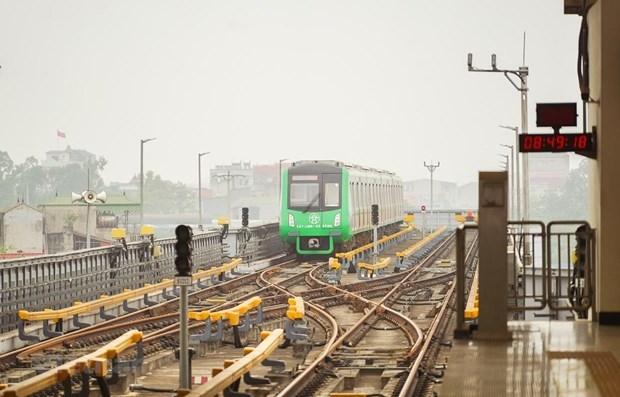 hanoi to receive handover of cat linh ha dong metro line