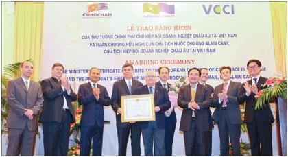 eurochams work recognized