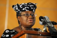 A group of former World Bank officials on Wednesday endorsed Africa's candidate to lead the Bank, Nigerian Finance Minister Ngozi Okonjo-Iweala, pictured in 2011.