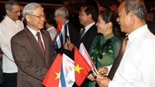 Party chief praises Vietnam-Cuba solidarity