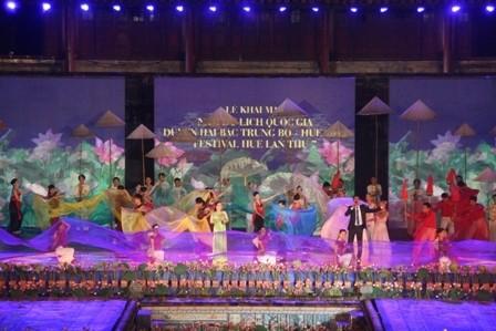 grand opening ceremony kicks off hue festival 2012