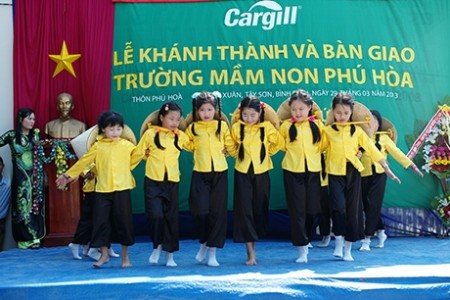 cargill cares fund unveils 58th school in vietnam