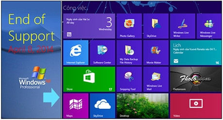 over 55 million pcs in vietnam at risk as windows xp support ends