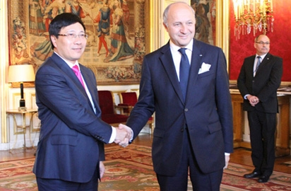 strategic partnership bolstering vietnam france trade
