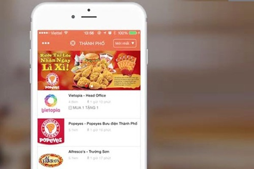 vng launches mobile coupon app