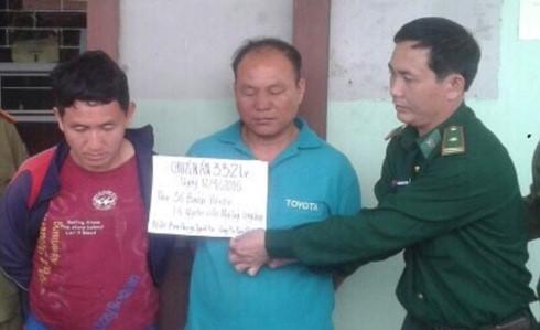 2 laos men caught smuggling 12 kg of heroin to vietnam