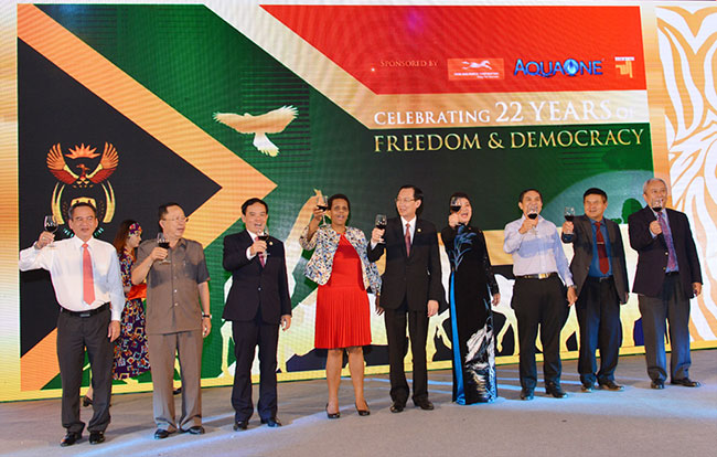 Ho Chi Minh City celebrates South African Freedom Day