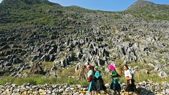 dong van karst plateau geopark construction plan ratified