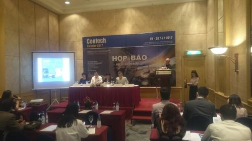 CONTECH Vietnam 2017 showcasesthe latest construction technologies