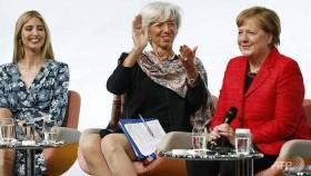 Ivanka defends Trump at women's summit