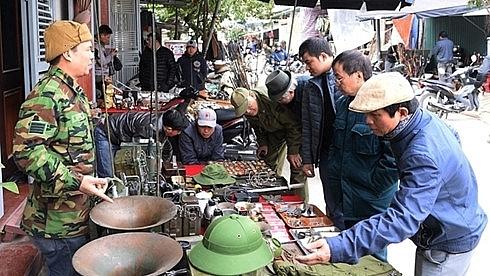 memories from the flea market