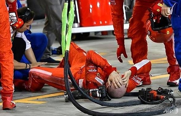 ferrari mechanic has surgery thanks well wishers