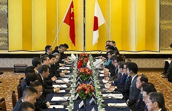 china japan vow new starting point in ties