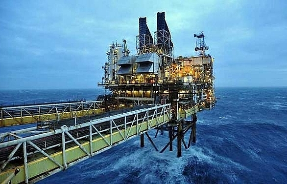 oil prices ease after syria air strikes