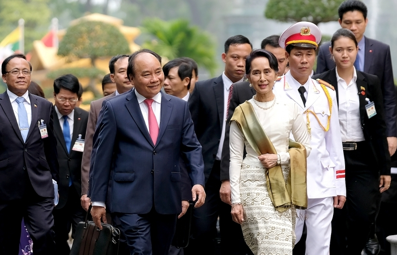 vietnam myanmar vow to seek new ways to achieve trade goal