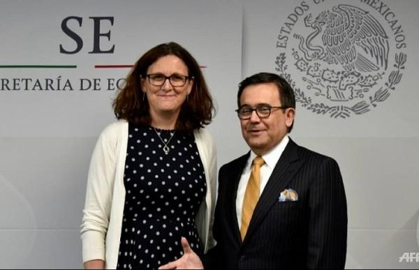 EU, Mexico reach agreement on free trade deal