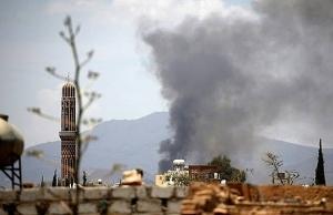 20 killed 40 wounded in air raid on yemen wedding medics