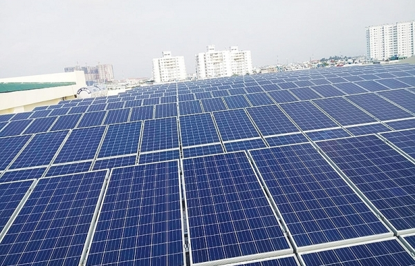 home solar system shines in vietnam