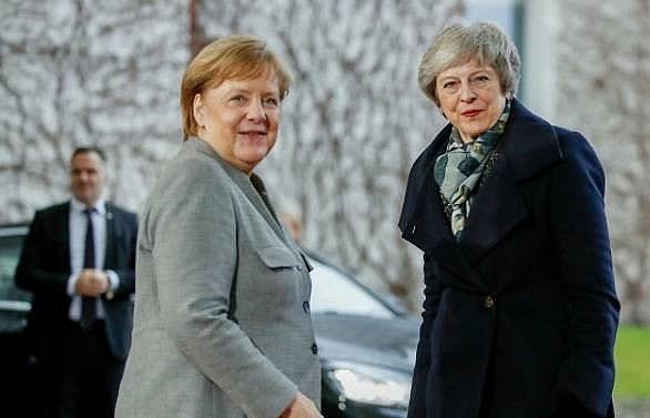 may to meet merkel macron ahead of crucial brexit summit