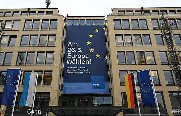 german big business dives into politics with pro eu message