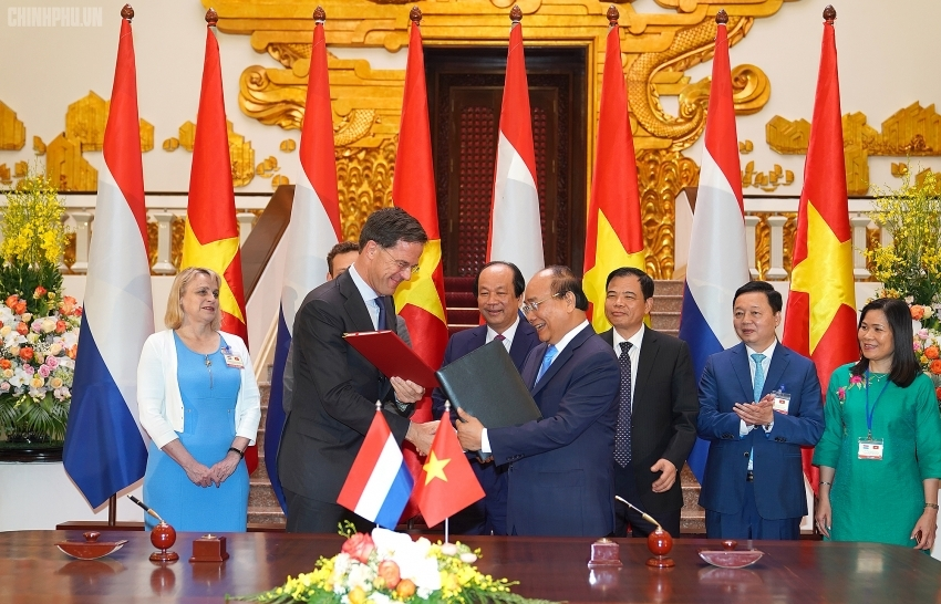 vietnam netherlands issue joint statement