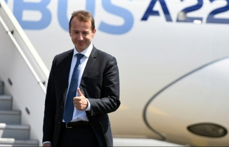 airbus enters new era with change of ceo