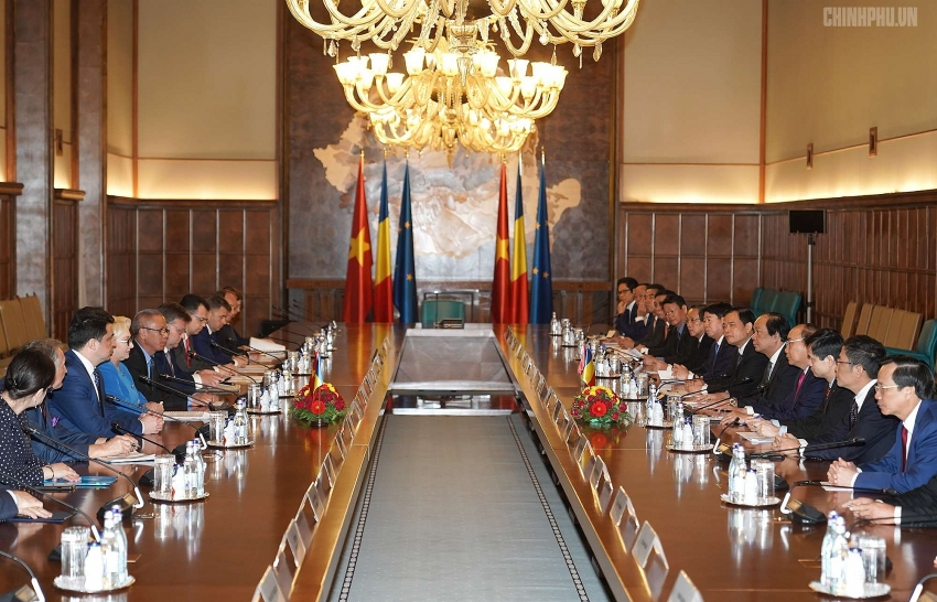 romania pledges to foster signing and ratification of vn eu trade and investment deals
