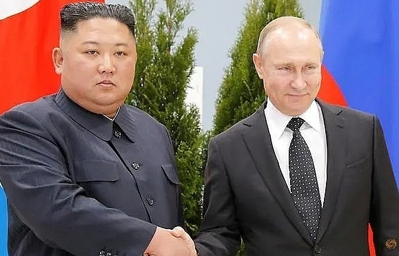 putin tells kim he wants to support positive efforts on korean peninsula