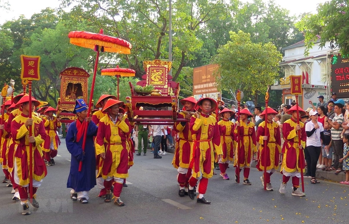hue traditional craft festival patrons of all crafts commemorated