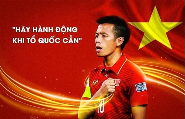 vietnamese footballers donate to fight covid 19