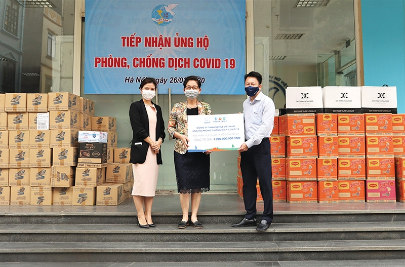 nestle vietnam delivering nutrition for heroic efforts
